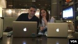 من و سیاوش علیپور، همکارم