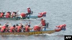 Hội đua thuyền rồng ở thủ đô Washington