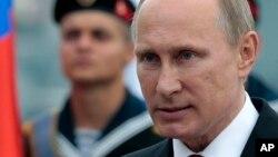 ႐ုရွားသမၼတ Vladimir Putin