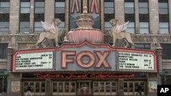 底特律最具代表性的地标之一福克斯剧院
