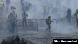 "VOA连线(江静玲):社会分裂征兆? 欧洲密切关注法国""黄背心""运动"