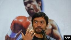 ကမ႓ာေက်ာ္လက္ေဝွ႔သမား Manny Pacquiao. (ဇန္နဝါရီ ၂၄၊ ၂၀၁၉)