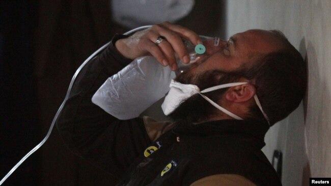 En images : l'attaque chimique de Kahn Sheikhoun en Syrie