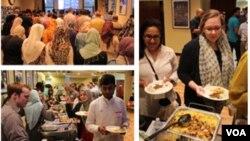 Acara 'Taste of Ramadan' yang diselenggarakan CAIR-Chicago dalam bulan Ramadan tahun 2013 ini (courtesy photo).