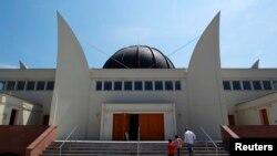 Grande Mosquée de Strasbourg le 9 juillet 2013.