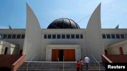 Masjid Agung di Strasbourg, Perancis.