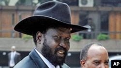 Salva Kiir, président du Sud-Soudan