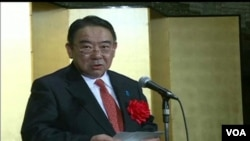 日本新任駐中國大使木寺昌人(視頻截圖)
