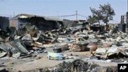 Scène de violences inter-etniques au Nigéria