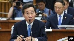 Perdana Menteri Korea Selatan Lee Nak-yon (foto: dok).