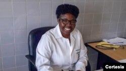 Emília Marcelina dos Santos, professora na Universidade José Eduardo dos Santos (UJES), Huambo.