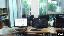 Angola Luanda Mediateca Computadores