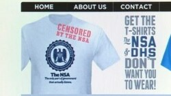 NSA Squabbles With T-shirt Maker Over Free Speech