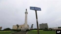 Los que están a favor del movimiento también proponen cambiar el nombre de las principales calles y avenidas. Uno de los monumentos que serán removidos es el del general Robert E. Lee.