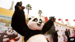 Master Po Ping seen at DreamWorks Animation and Twentieth Century Fox World Premiere of 'Kung Fu Panda 3' at TCL Chinese Theater on Saturday, Jan. 16, 2016.