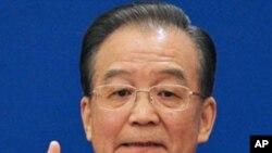 ນາຍົກລັດຖະມົນຕີຈີນ ທ່ານ Wen Jiabao