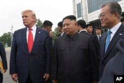 Trump Korea DMZ