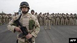 Pripadnici gruzijske armije koji su se pridružili koalicionim snagama u Avganistanu gde je, prema rečima predsednika Hamida Karzaia, ubijanje civila u operacijama NATO-a sve češća pojava