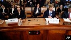 Auditions publiques au Congrès américain: Fiona Hill, et David Holmes témoignent
