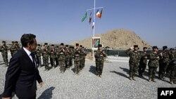 Николя Саркози в Афганистане 12 июля 2011г.