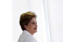 "Dilma Rousseff diz-se ""injustiçada"""