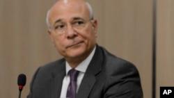 FILE - UN special envoy for Syria Ramzy Ezzeldin Ramzy.