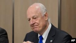 Cпецпосланник ООН Рамзи Эззельдин Рамзи