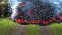 Виверження вулкана на Гаваях. Відео