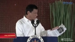 TT Duterte phát biểu khó hiểu về lực lượng đặc biệt Mỹ ở Philippines