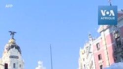 Madrid partiellement bloquée après une tempête de neige historique