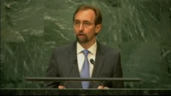 U.N. Human Rights Commissioner Zeid al-Hussein at Refugee Summit