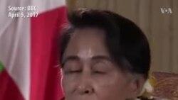 آنگ سان سوچی کی روہنگیا مسئلے پر گفتگو