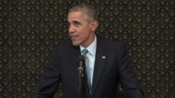 Obama Decries US Political Polarization