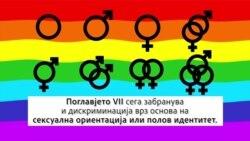 Поглавје VII - како САД забранија дискриминација врз основа на сексуална ориентација