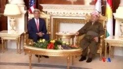 2014-06-24 美國之音視頻新聞: 克里會見庫爾德領導人推動政治改革
