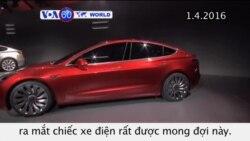 Đơn đặt hàng xe điện Tesla tăng vọt trong 24 giờ đầu (VOA60)