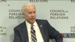 Байден поділився своїм досвідом переговорів у Києві. Відео