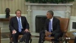 رئیس جمهوری آمریکا با نخست وزیر پاکستان دیدار و گفتگو کرد