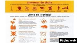 Ebola, sintomas e medidas de prevenção