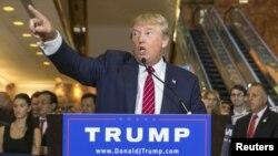 Дональд Трамп. Манхэттен, Нью-Йорк. 3 сентября 2015 г.