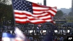 Демонстрация в поддержку иммиграционной реформы. Вашингтон, округ Колумбия.