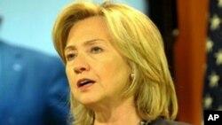 國務卿希拉里克林頓星期三評論國際宗教自由報告