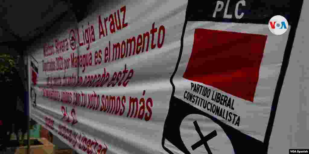 El PLC logró imponer a dos presidentes en Nicaragua. Hoy es un partido señalado de ser afín al oficialismo.