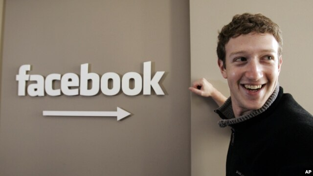 Mark Zuckerberg, người đồng sáng lập Facebook