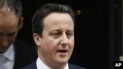 British Prime Minister David Cameron (file photo)