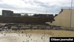 Há três mortos e 151 casas destruídas