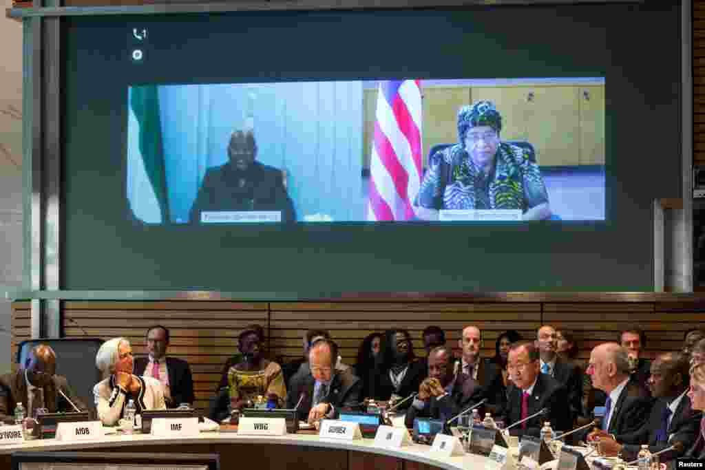 Dünya Bankında Ebola ilə bağlı tədbir