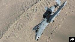미 공군의 A-10 공격기 (자료사진)