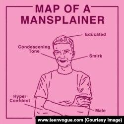 Mansplain การอธิบายอย่างดูถูกคู่สนทนา