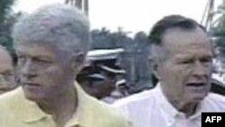 Các cựu TT Mỹ duyệt lại nỗ lực cứu trợ nạn nhân động đất Haiti